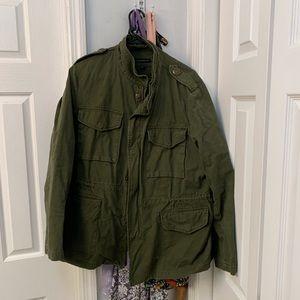 Army green lane Bryant jacket